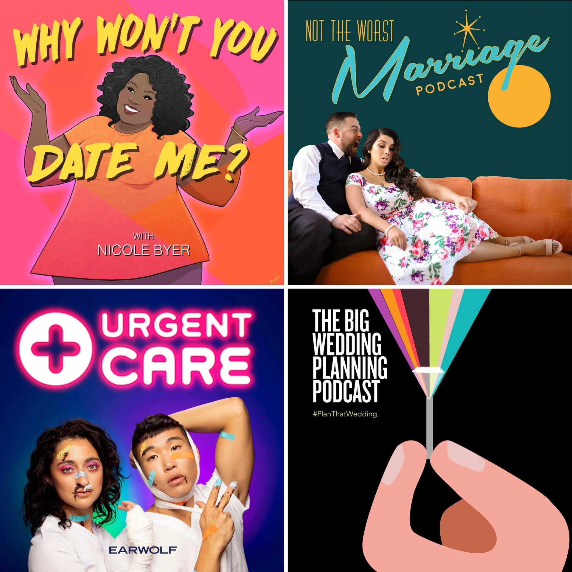 Podcasts Inspired by Love and Relationships